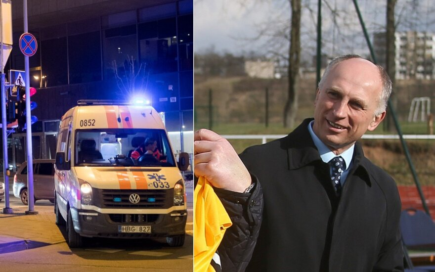 Greitosios pagalbos automobilis, Saulius Skibiniauskas / Foto: Domantas Pipas, Algimantas Barzdžius