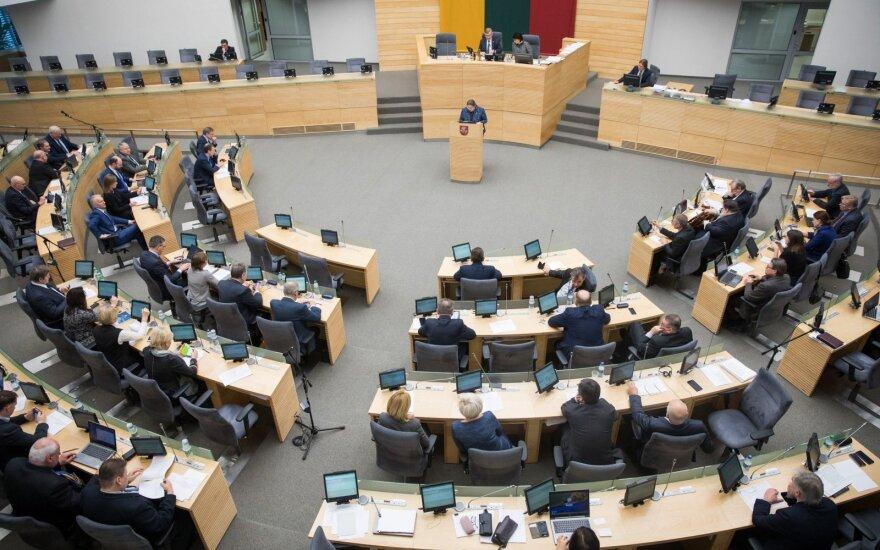 Seimas balsuos dėl atlygio pranešėjams apie konkurencijos ribojimus