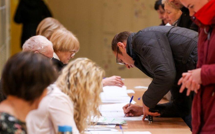 Policija užfiksavo 103 pranešimus apie galimus rinkimų įstatymo pažeidimus