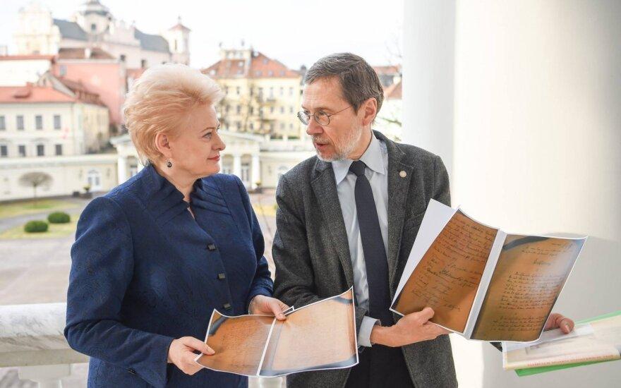 Dalia Grybauskaitė, Liudas Mažylis