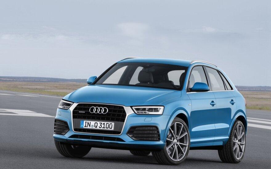 """""""Audi"""" savininkai gali pasitikrinti, ar jų automobiliai dalyvauja """"Dyzelgeite"""""""