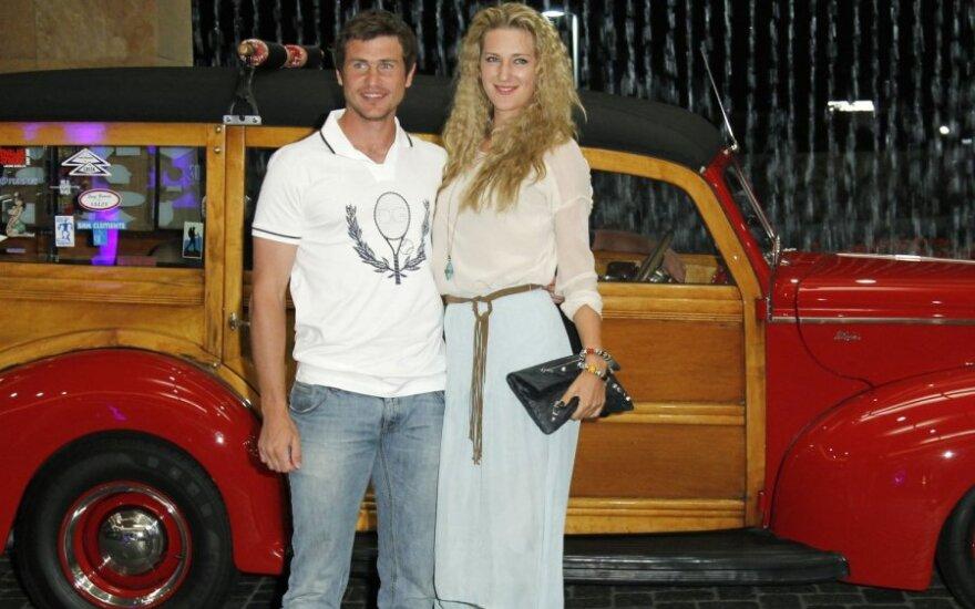 Sergejus Bubka ir Viktorija Azarenka