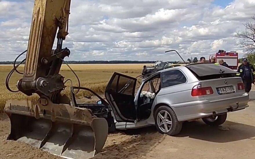 Aiškėja daugiau kraupios avarijos detalių Kėdainių r.: BMW, įtariama, skriejo milžinišku greičiu