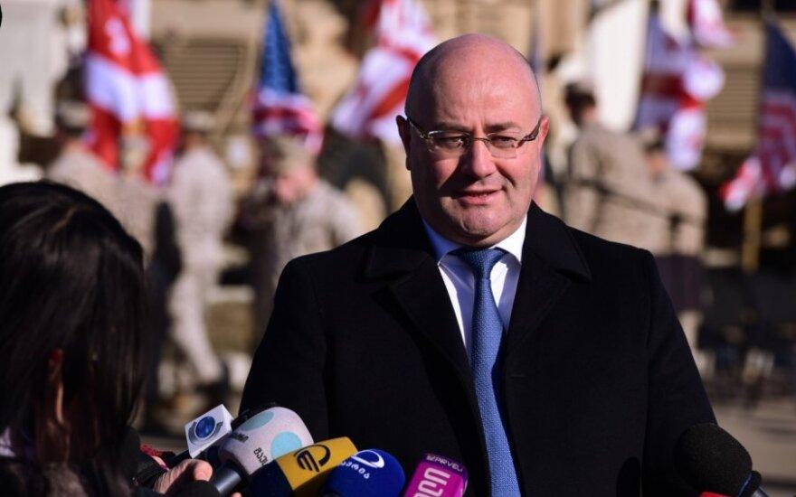 Sakartvelo gynybos ministras Levanas Izorija