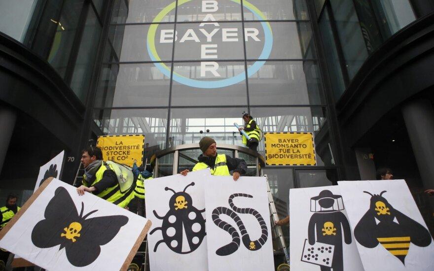 Protestas prieš Bayer AG