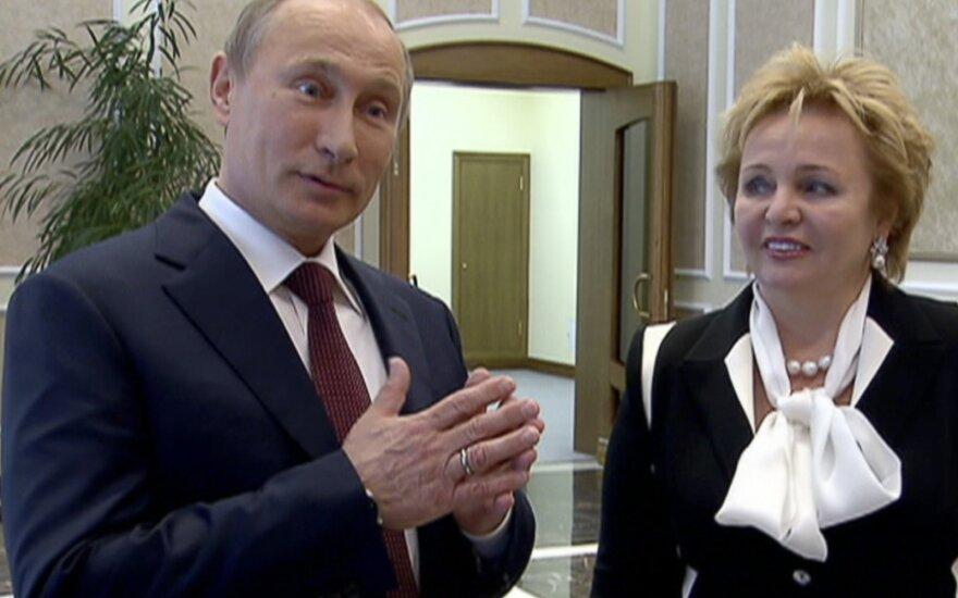 Vladimiras Putinas, Liudmila Putina