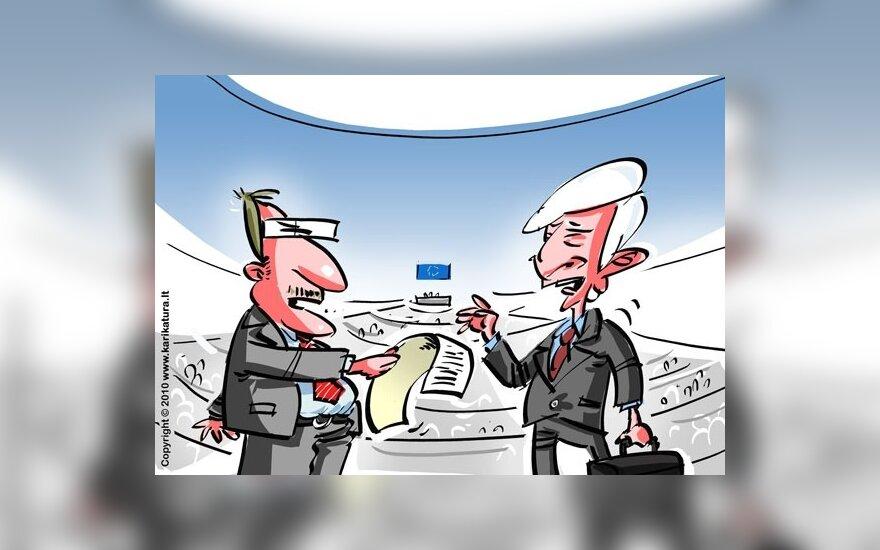 V.Uspaskichas ir J.Buzekas
