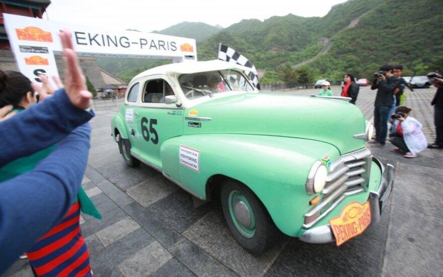Klasikinių automobilių maratonas Peking to Paris