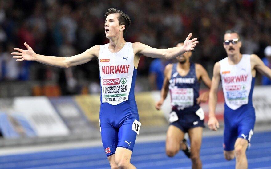 Bėgikas, norvegas Jakobas Ingebrigtsenas