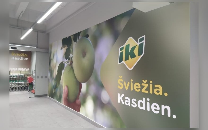 """Duris atveria atnaujinta """"Iki"""" parduotuvė Kaune"""