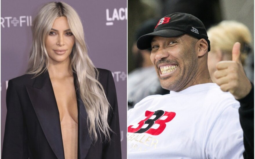 Kim Kardashian ir LaVaras Ballas