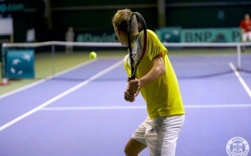 Lukas Mugevičius (Norge Tennisforbund nuotr.)