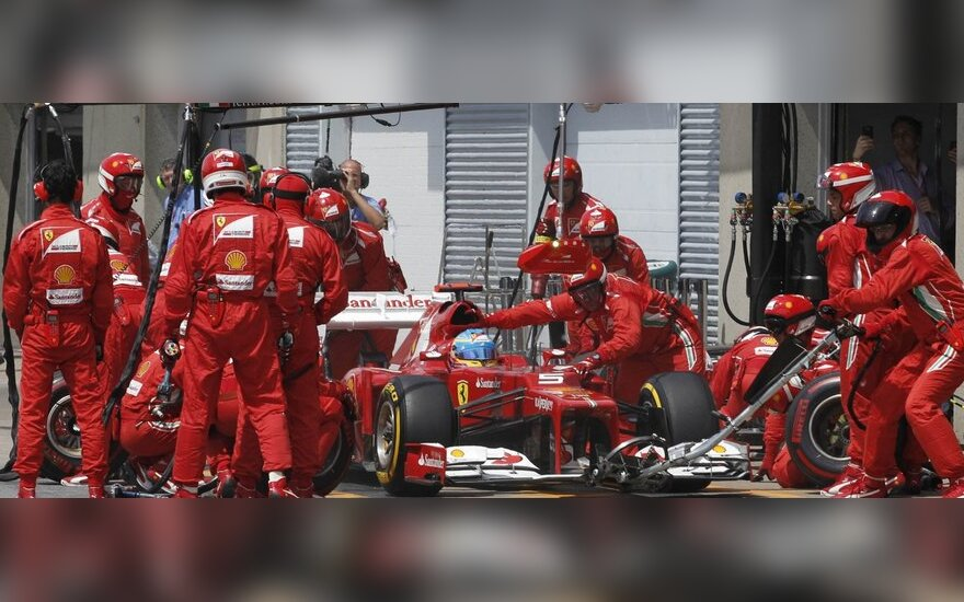 "F-1 ""Ferrari"" komanda"