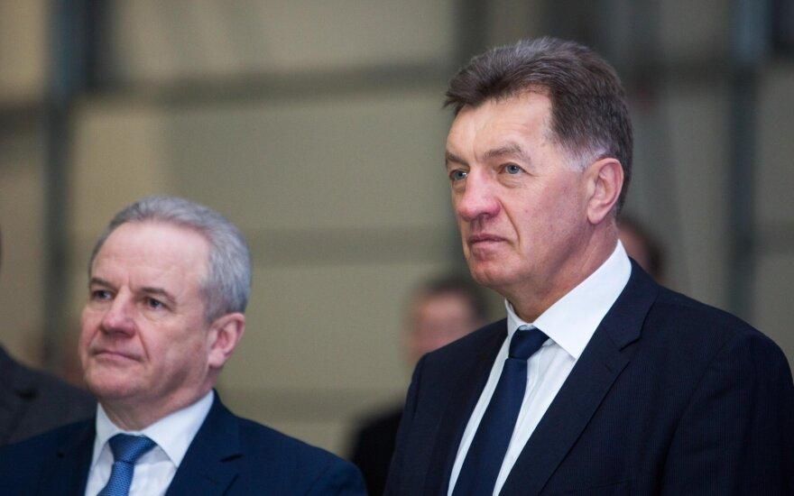 Kęstutis Trečiokas and Algirdas Butkevičius