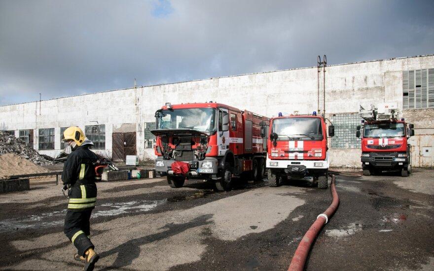 Gaisro Alytuje padariniams – dar 630 tūkst. eurų iš valstybės rezervo