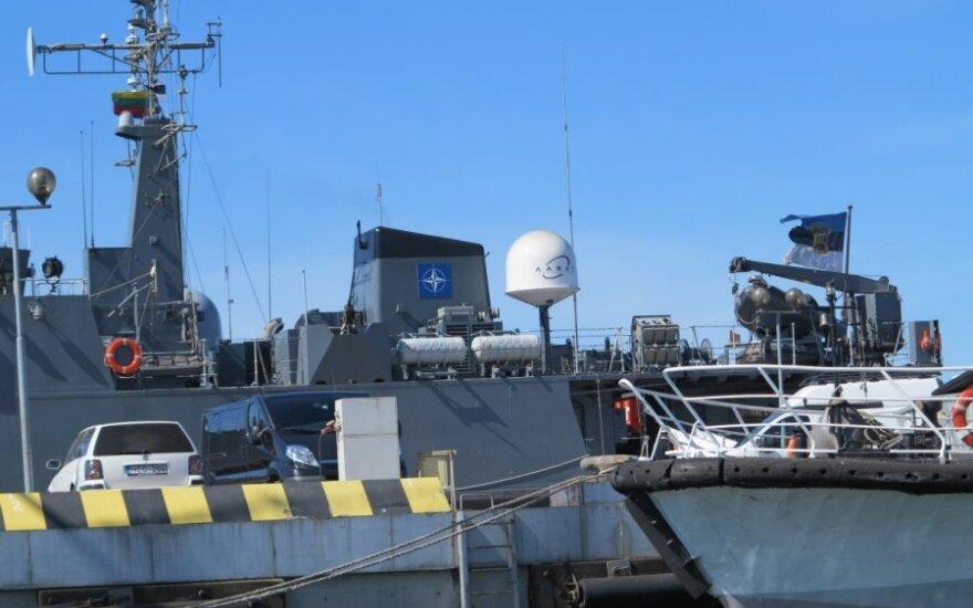 Klaipėdoje prisišvartavo NATO laivų grupė