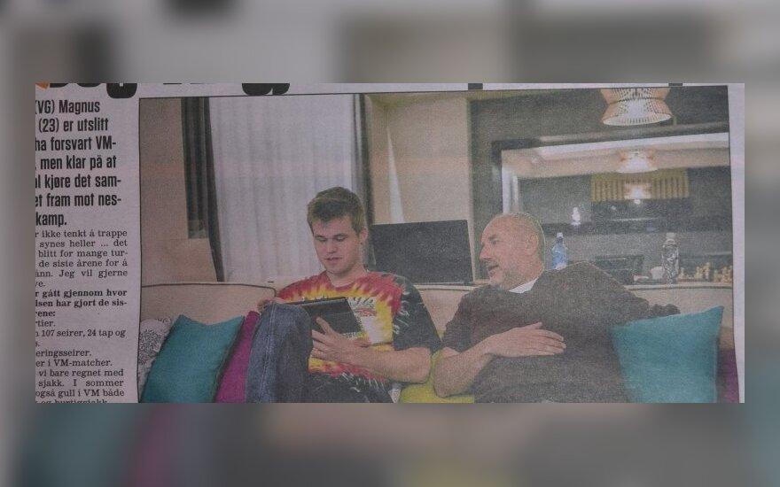 Nuotrauka iš laikraščio