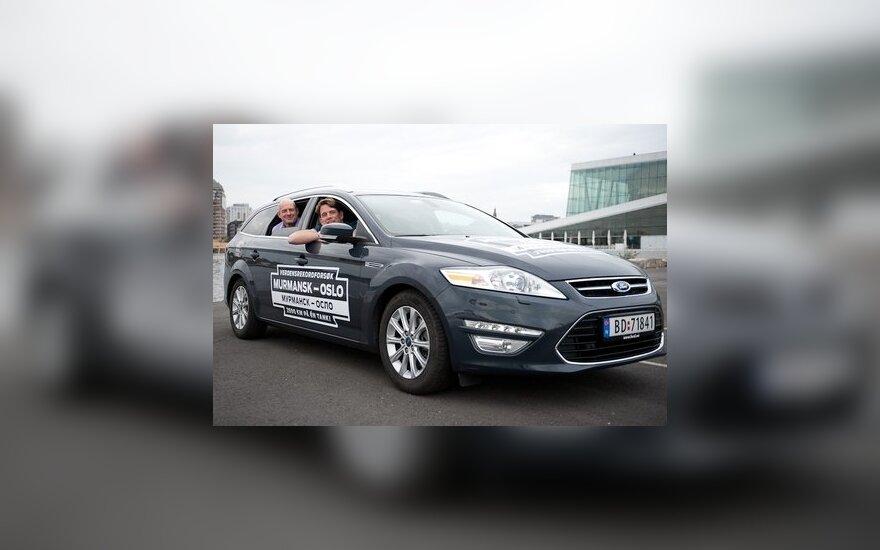 Norvegų rekordas su Ford Mondeo