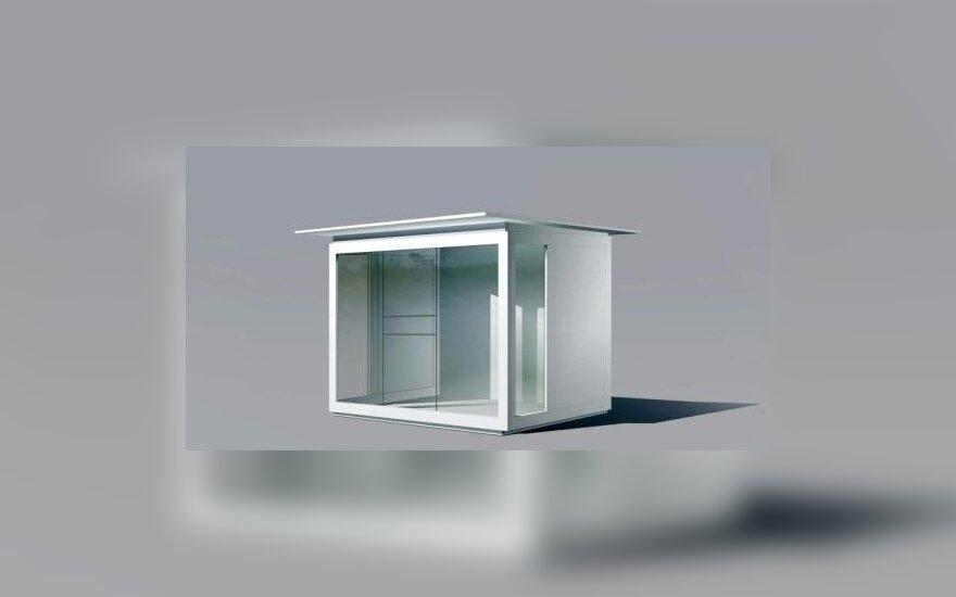 Naujo dizaino kioskas