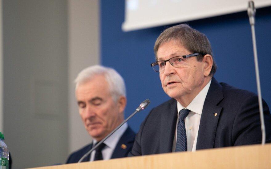 Čmilytė-Nielsen švietimo projekto darbo grupėje pasigedo jos pirmininko