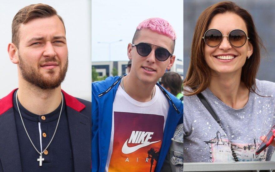 Donatas Motiejūnas, Donatas Montvydas, Tatjana Lavrinovič
