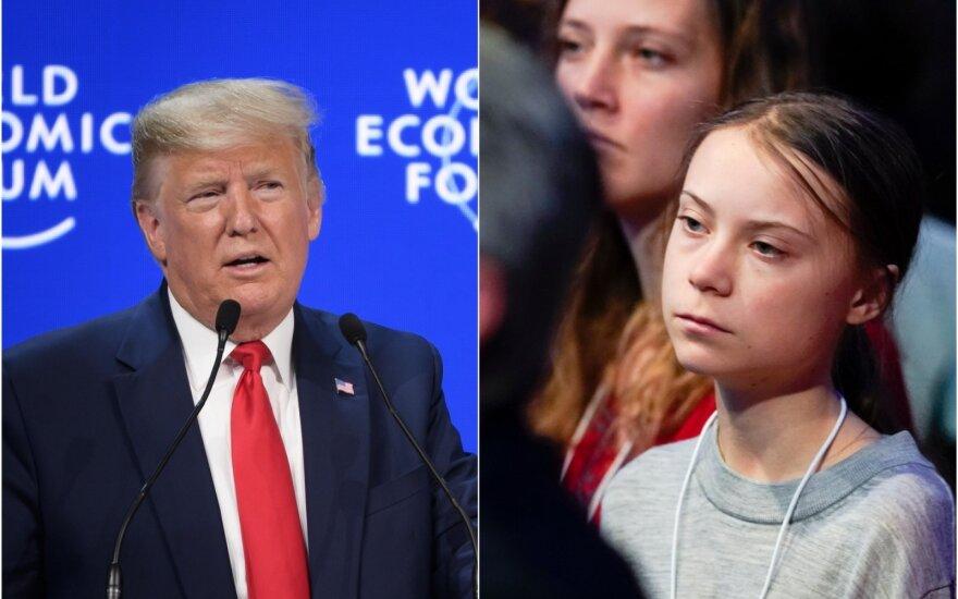 Donaldas Trumpas, Greta Thunberg
