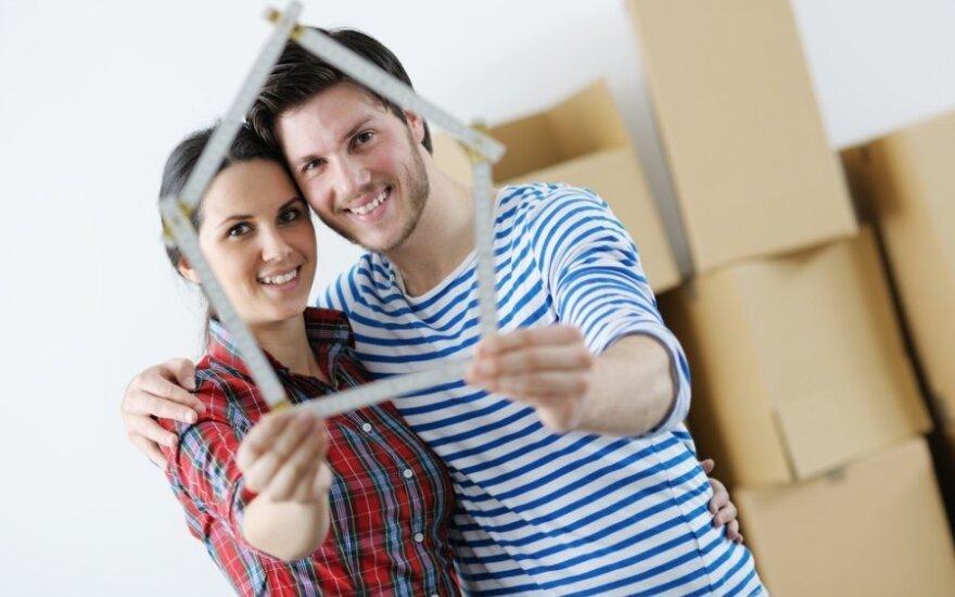 Pigios paskolos būsto pirkėjų nevilioja