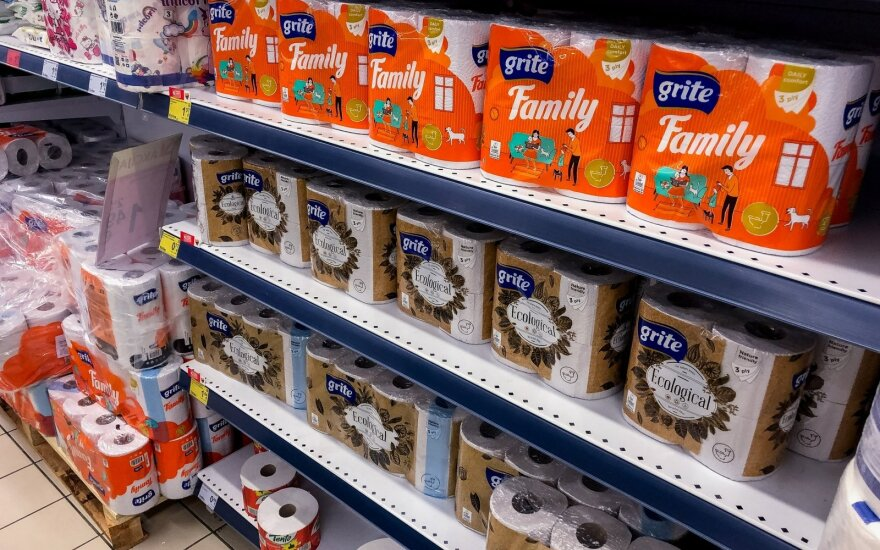 """""""Grigeo"""": tualetinio popieriaus nepritrūks"""