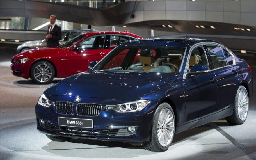 Nauji BMW automobiliai