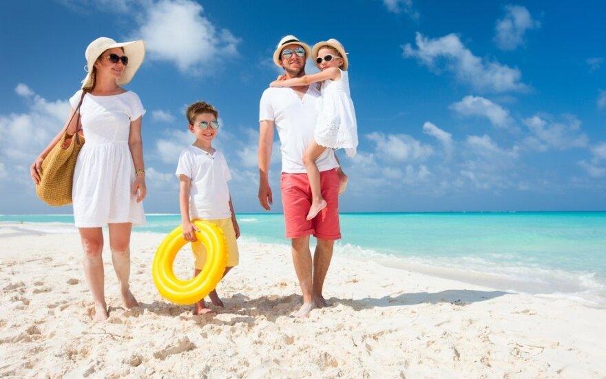 Prasideda šeimų vasaros atostogų planavimo pikas
