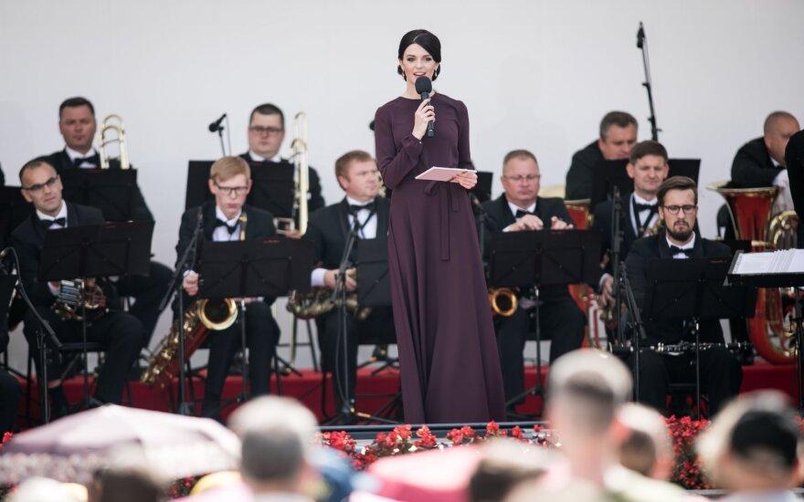 Prezidento inauguracijos proga vyksta šventinis koncertas