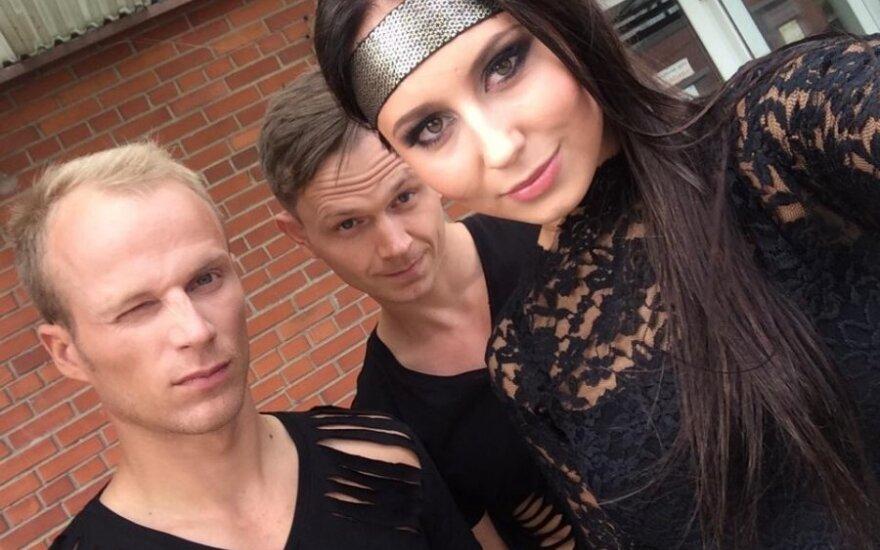 Vasha su šokėjais Ryčiu ir Valdu