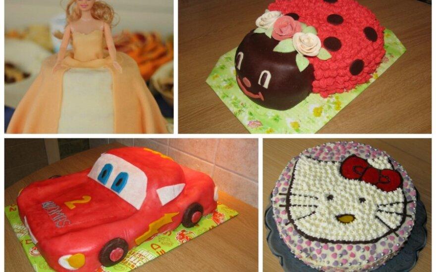 Mūsų šeimos kulinarinė tradicija: linksmi tortai vaikams