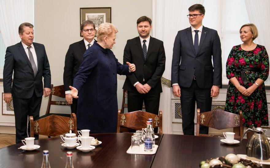 Kęstutis Juknis, Eugenijus Jovaiša, Dalia Grybauskaitė, Andrius Navickas, Tomas Daukantas, Rūta Krasauskienė