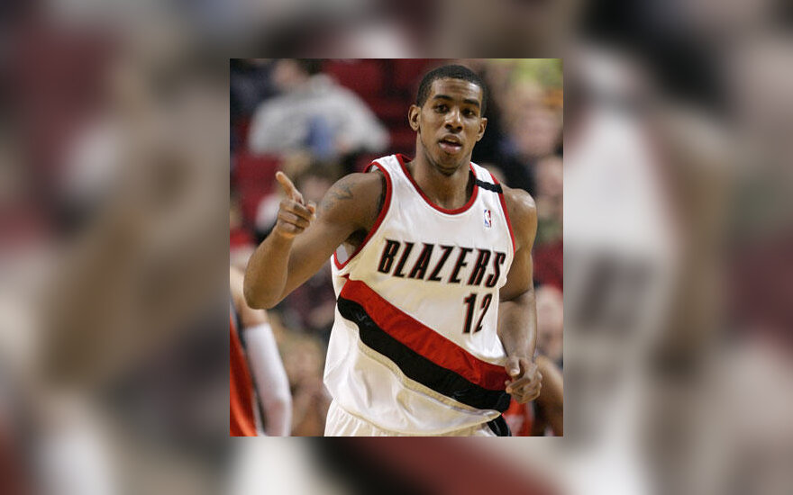 "LaMarcusas Aldridge'as (""Trail Blazers"")"