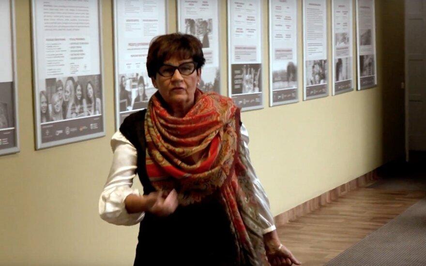 L. Anužienė neteko ir specialių kursų Karaliaus Mindaugo profesinio mokymo centre