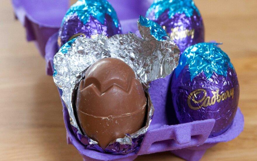 """""""Cadbury"""" šokoladiniai kiaušiniai"""