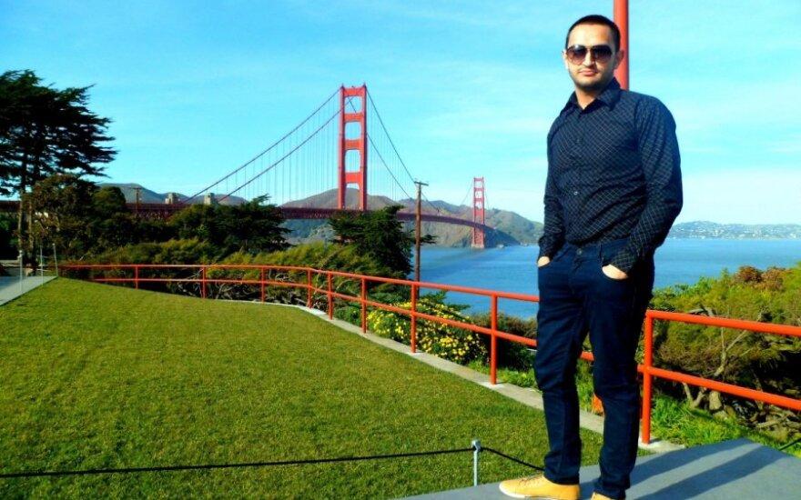 JAV stažavęsis Ruslanas: esu pavyzdys to, kokie galėtų būti romų tautybės žmonės