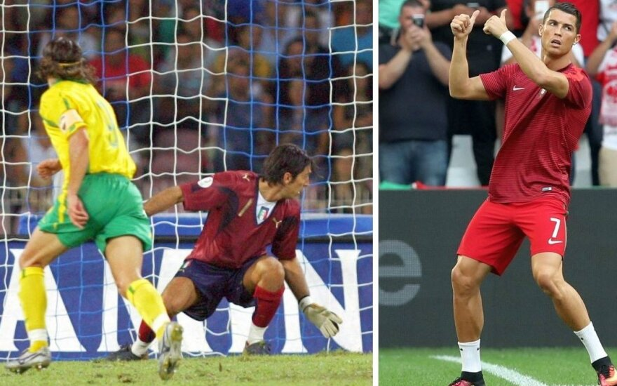 G. Buffonui mušęs T. Danilevičius: egocentriškasis C. Ronaldo gali pakeisti finalą