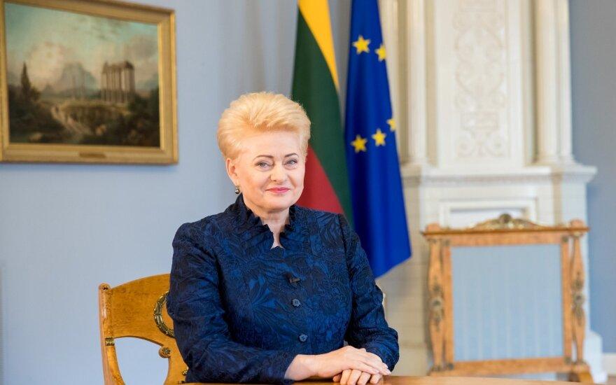 Devintus metus šaliai vadovaujanti Grybauskaitė: daugelį siektų tikslų pavyko įgyvendinti