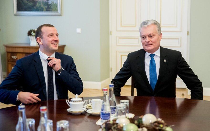 Virginijus Sinkevičius, Gitanas Nausėda