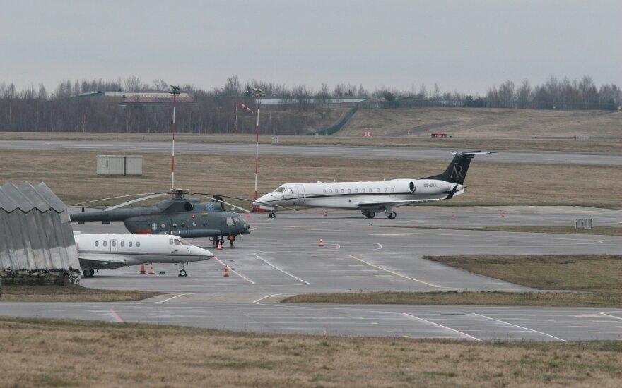 """Artūro Rakausko privatus lėktuvas """"Embraer 135BJ"""""""