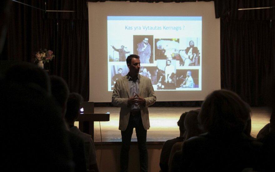 Vilniaus Gabijos gimnazija paminėjo V. Kernagio gimtadienį