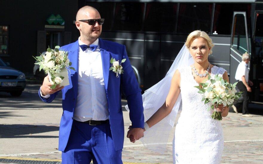 Enrikas Daktaras su žmona Kamile