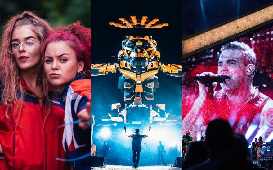 Karklė, SEL koncertas, Robbie Williams koncertas