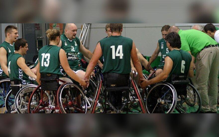 Lietuvos krepšinio vežimėliuose rinktinė