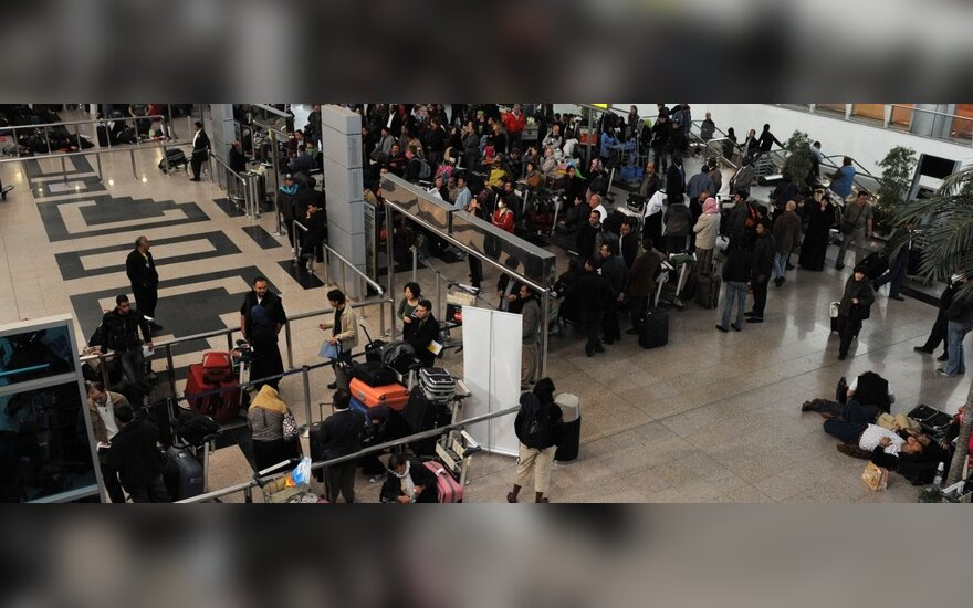 JAV organizacijų nariams uždrausta išvykti iš Egipto