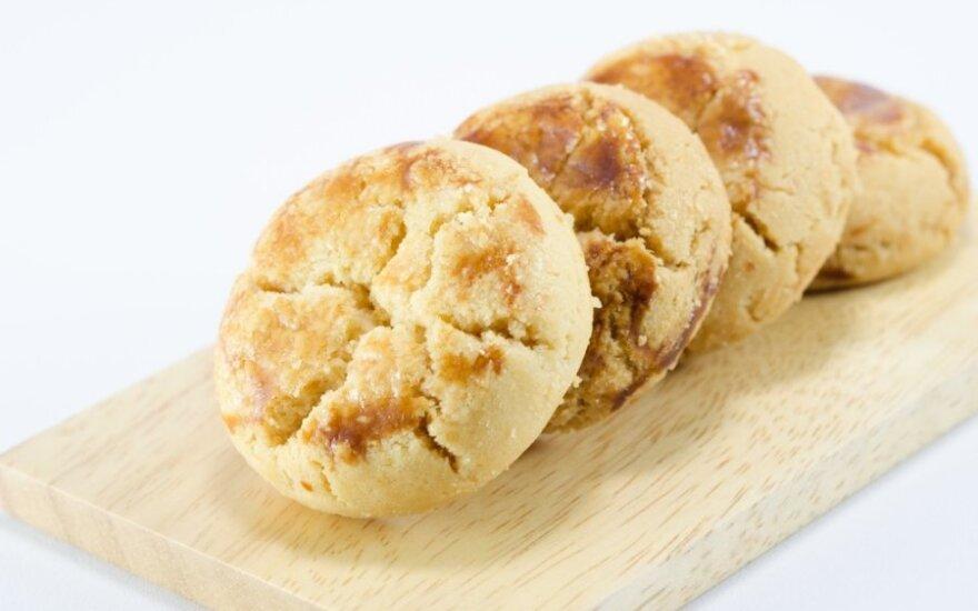 Močiutės grietininiai sausainiai