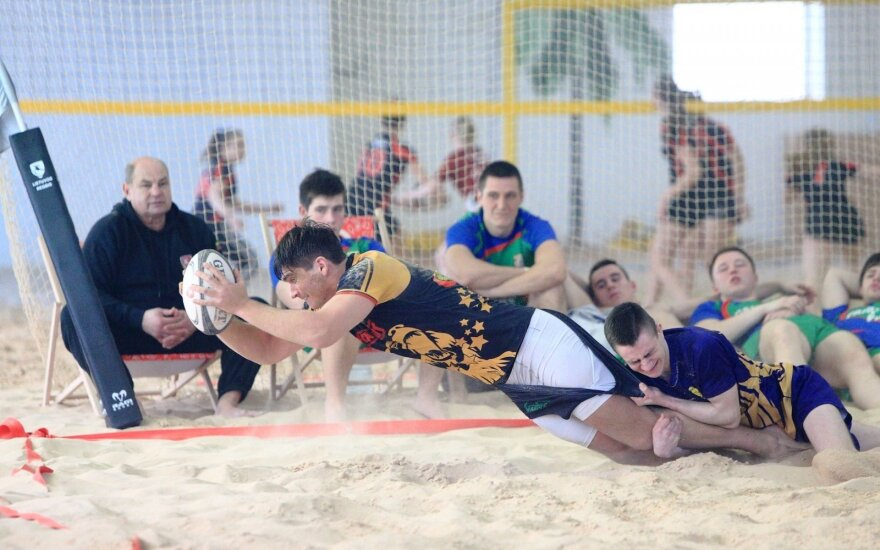 Lietuvos žiemos paplūdimio regbio čempionatas