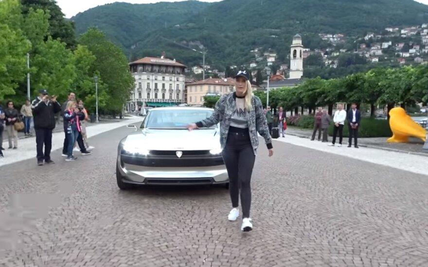 """""""Peugeot E-Legend Concept""""/ Stop kadras"""